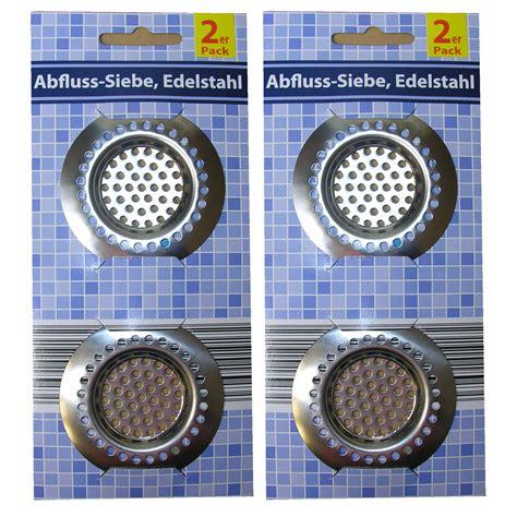 Waschbecken Ablauf Sieb