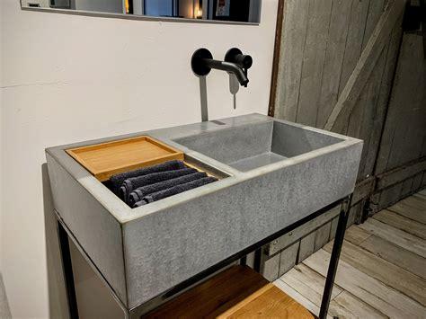 Waschbecken Bad Beton