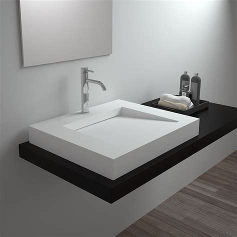 Waschbecken Eckig Modern