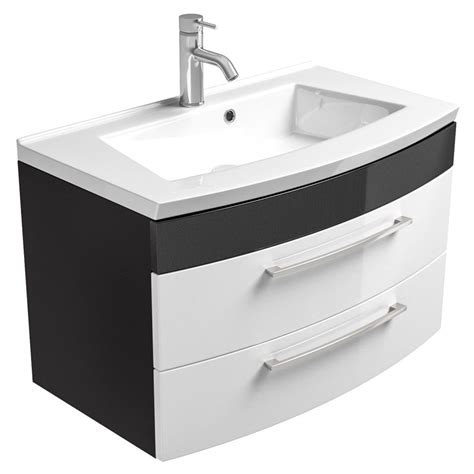 Waschbecken Mit Unterschrank 80 Cm