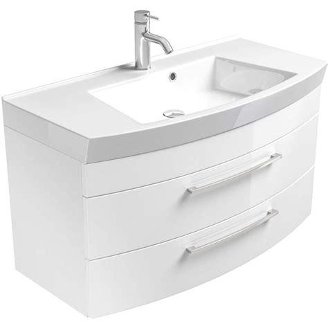 Waschbecken Mit Unterschrank Stehend 80 Cm Breit