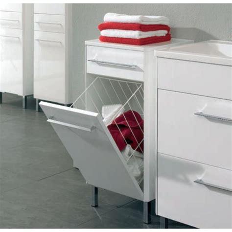 Waschbeckenunterschrank Mit Wäschekippe