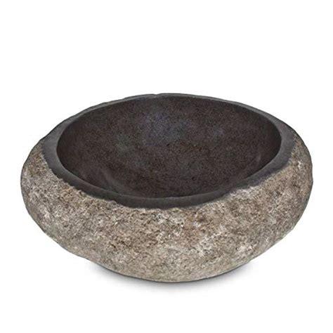 Waschschale Flussstein