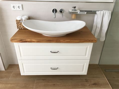 Waschtischplatte Holz Ikea