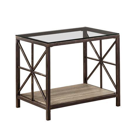 Washburn Weathered Grey End Table