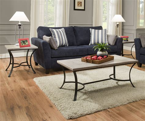 Washer Occasional 3 Piece Coffee Table Set