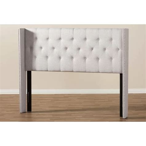 Waverly Hall Upholstered Wingback Headboard