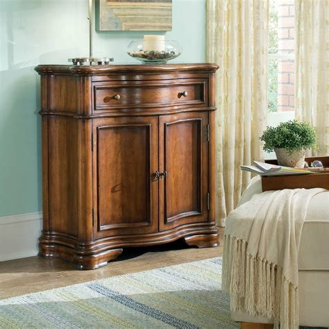 Waverly Place Shaped Hall Accent Cabinet