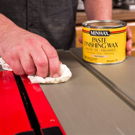 Wax For Table Saw Top