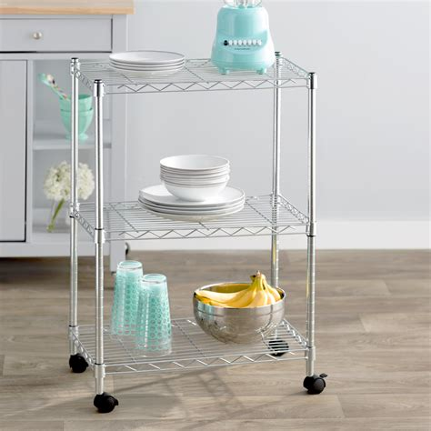 Wayfair Basics 3 Shelf Wire Shelving Unit
