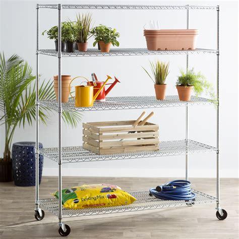 Wayfair Basics 5 Shelf Industrial Shelving Unit