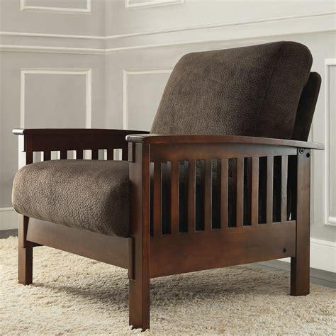 Wayne Mission Fabric Armchair