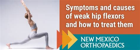 weak hip flexors symptoms of msa-c symptoms