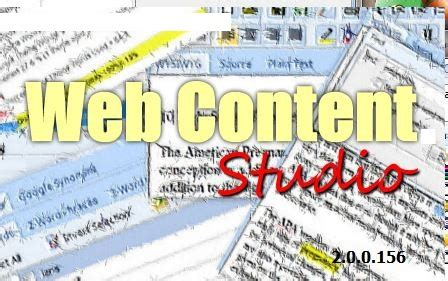 Web Content Studio Review : Niche Site Builders Give Yourself The.