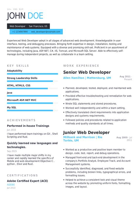 web designer resume sample pdf bsr resume sample library and more - Web Designer Resume Samples
