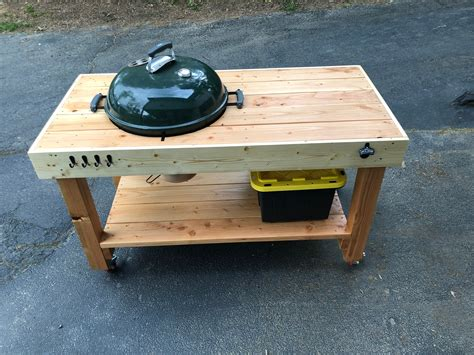 Weber Grill Table Plans
