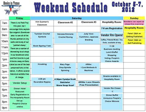 Weekend Work Schedule Template Sample Cover Letter Example Pdf - Weekend work schedule template