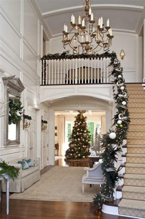 Weihnachtsdeko Treppengeländer