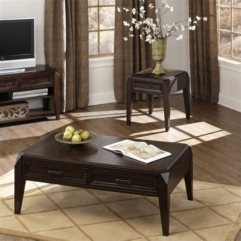 Wellington 3 Piece Coffee Table Set