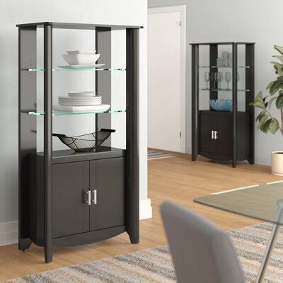 Wentworth Library Storage Accent Cabinet (Set of 2)