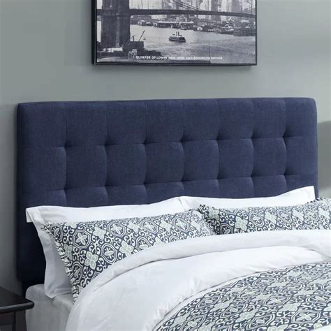 West Highland Upholstered Panel Headboard byHighway To Home