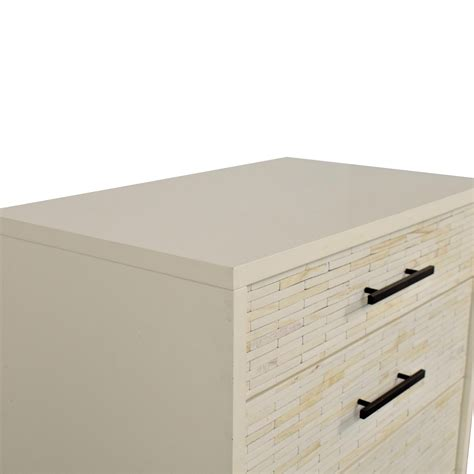 West Elm Wood Tiled Dresser