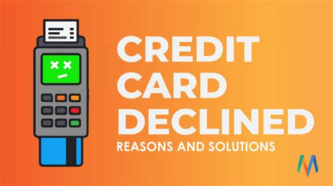 Credit Card Declined Error Code 2