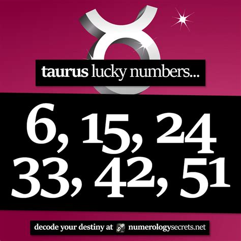 Taurus-Question What Are My Lucky Numbers For Today Taurus.