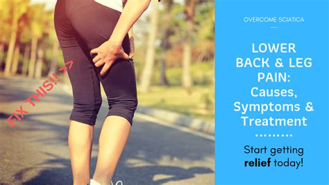 what causes pain in lower back and legs