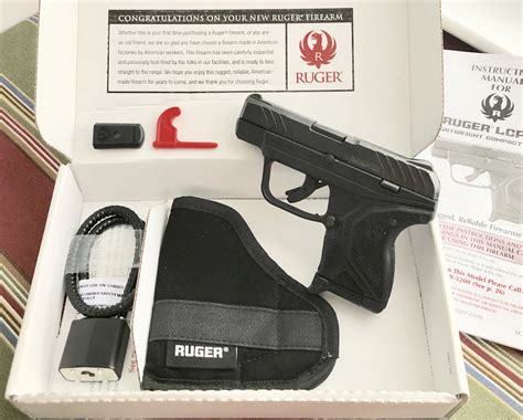 Ruger-Question What Comes In The Box With Ruger Lcp 2.