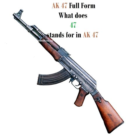 Ak-47-Question What Does 47 Stand For In Ak 47.