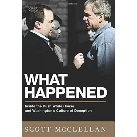 Read Books What Happened: Inside the Bush White House and Washington's Culture of Deception Online