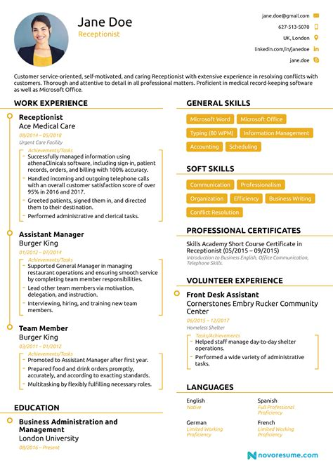 what is chronological resume format resume format guide chronological functional combo