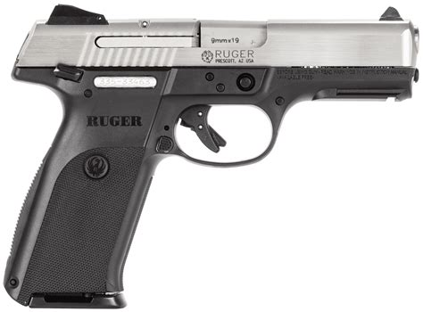 Gunkeyword What Is The Weight Of A Loaded Ruger Sr9 9mm.