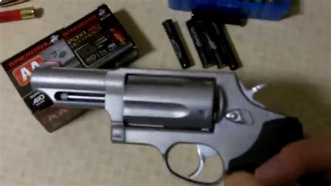 Taurus-Question What Kind Of Ammo Does A Taurus Judge Use.