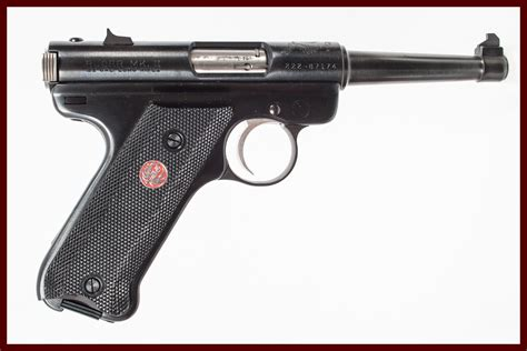 Ruger-Question What Kind Of Gun Is A Ruger Mark Ii.