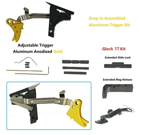 Glock-Question What Parts To Change On A Glock Trigger.