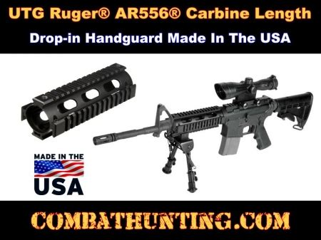 Ruger-Question What Size Quad Rail For A Ruger Ar 556.