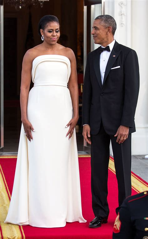 What Dress Did Michelle Wear To The Dinner
