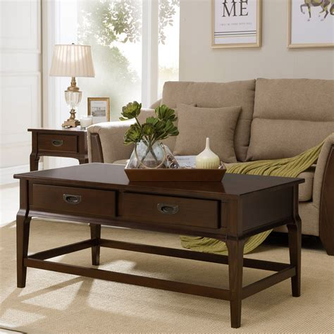 Wheelock 2 Drawer Coffee Table