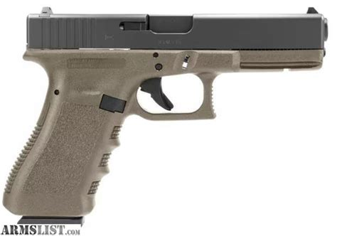 Glock-Question When Did Glock Make Olive Drab Green.