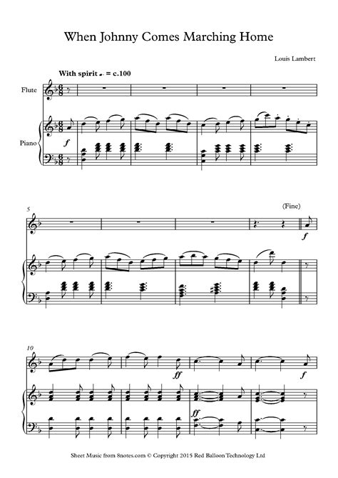 Read Books When Johnny Comes Marching Home: A Song about a Soldier's Return Online