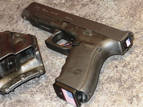 Glock-Question When Remove Slide Glock Firing Pin Forward Exposed.
