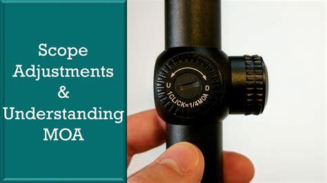 Rifle-Scopes When To Adjust Moa On Rifle Scope.