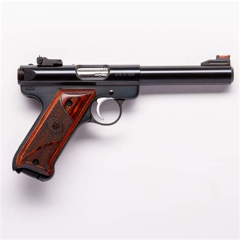 Ruger-Question When Was The Ruger Mark 3 Designed.