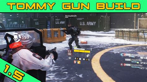 Tommy-Gun Where Do I Get The Tommy Gun In The Division.