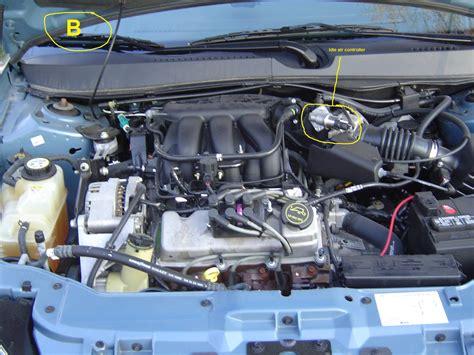 Taurus-Question Where Is The Iac On A 2003 Ford Taurus.