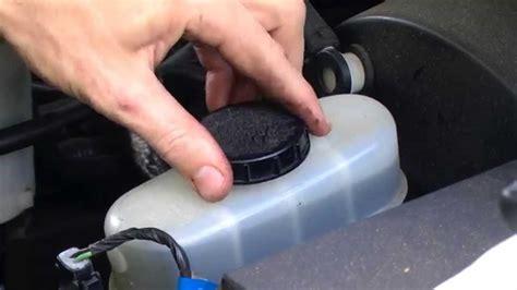 Taurus-Question Where To Put Brake Fluid In 2001 Ford Taurus.