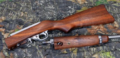 Ruger-Question Which Ruger 10 22 Had Real Wood Stocks.
