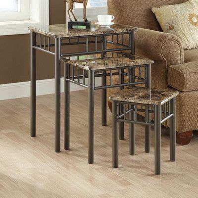 White Oak 3 Piece Nesting Tables